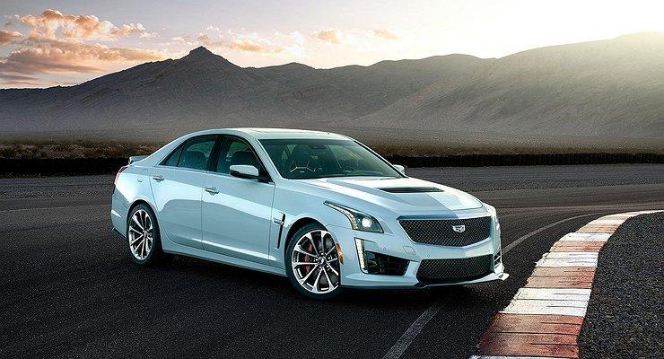 Вчесть 115-летия компании Cadillac выпустил особую серию седана CTS-V