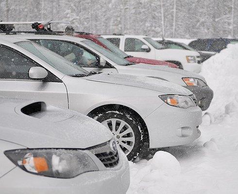 Названа пятерка самых популярных авто минувшей зимы вРоссии