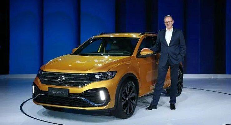 Volkswagen презентовал новый кроссовер