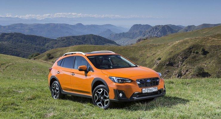 Стартуют российские продажи Subaru XV