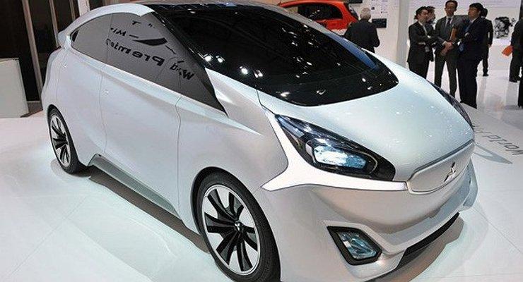 Модели Mitsubishi будут выпускаться без боковых зеркал