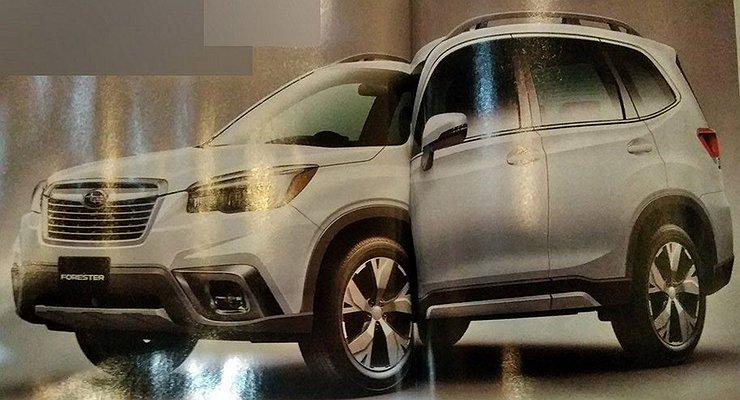 Экстерьер нового Subaru Forester раскрыли допремьеры