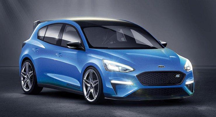 Ford Focus RSпревратится в400-сильный гибрид
