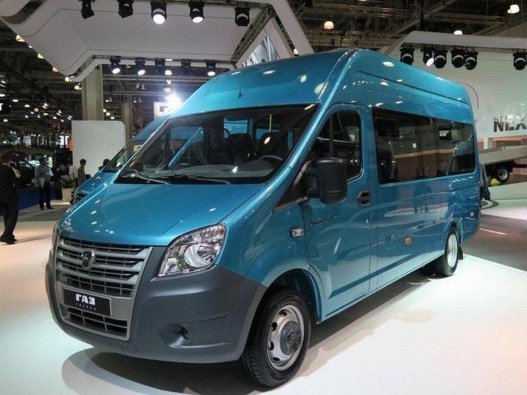 Обновленный тип микроавтобусов Газель Next поступило в реализацию