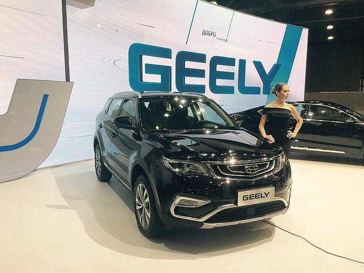 Geely Boyue/NL-3 появится в РФ летом 2017 года