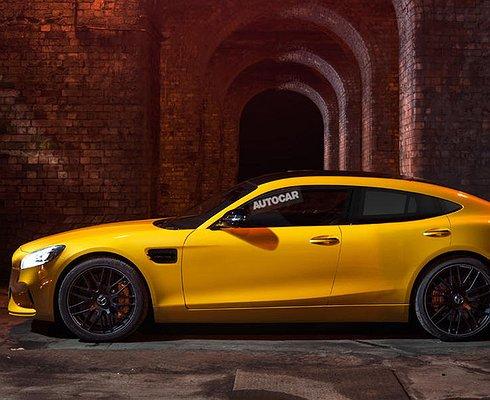 Mercedes-AMG привезет вЖеневу купе GT4