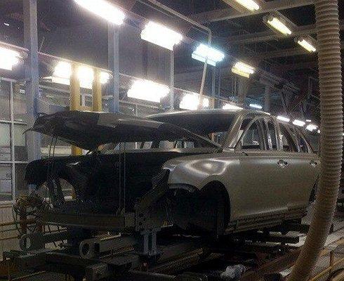 Автомобиль проекта «Кортеж» добрался доконвейера