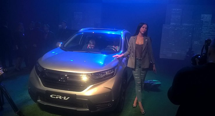 ВРоссии начались продажи бюджетной Honda CR-V