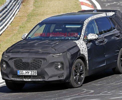 Hyundai готовит новый кроссовер Santa Fe