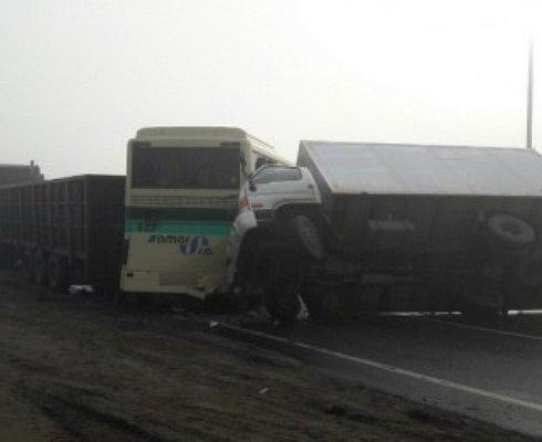 Вмассовом ДТП под Белгородом пострадало 4 человека