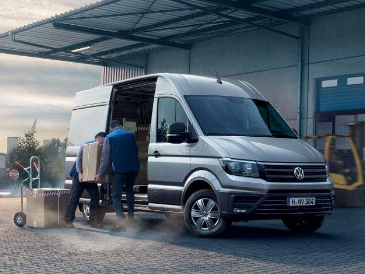 Фургоны VW Crafter отзывают в РФ из-за проблемы втопливной системе
