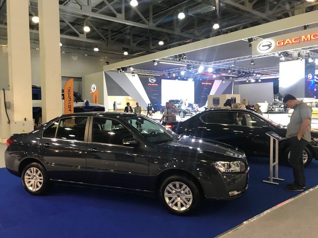 ММАС-2018: вРоссии начинаются продажи азербайджанских седанов Khazar