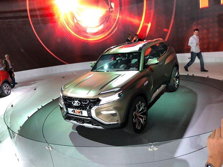 «АвтоВАЗ» представил концепт-кар джипа Лада 4х4 Vision