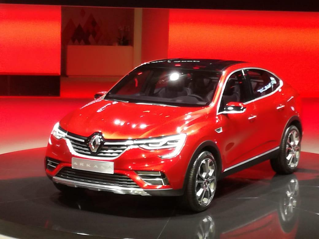 Первые подробности сММАС: бюджетный Renault Arkana— симбиоз седана икроссовера