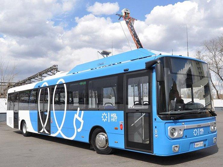 Электробусы появятся в столице в 2018-ом