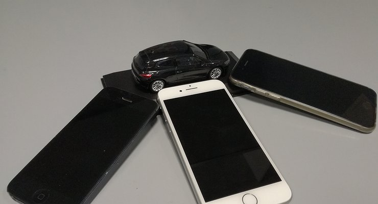 Три немецких премиум-седана поцене iPhone X