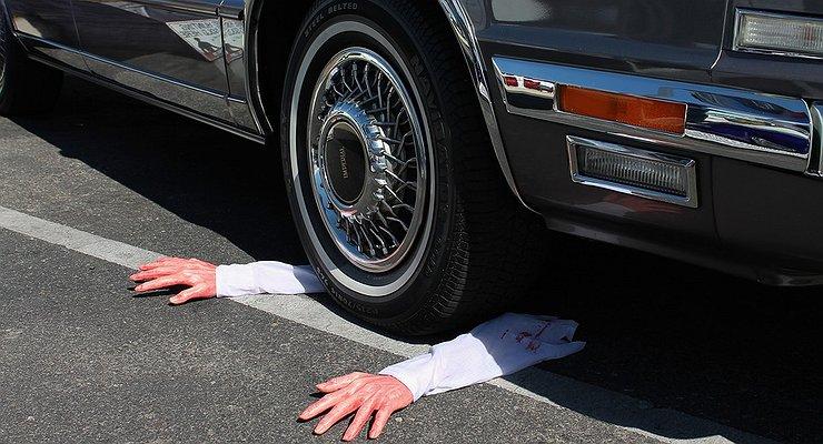 Пять самых курьезных аварий осени