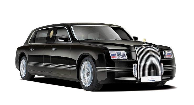 ВРоссии начали обкатку автомобилей проекта «Кортеж»