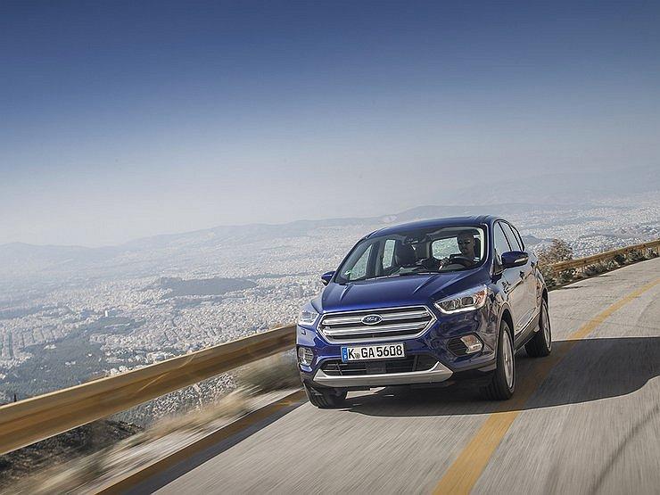В Российской Федерации стремительными темпами растет популярность нового Форд Kuga