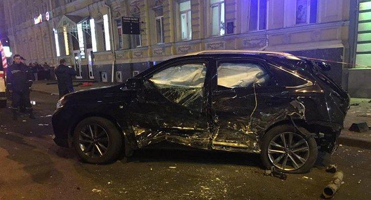 Мажорка накроссовере Lexus убила пятерых пешеходов