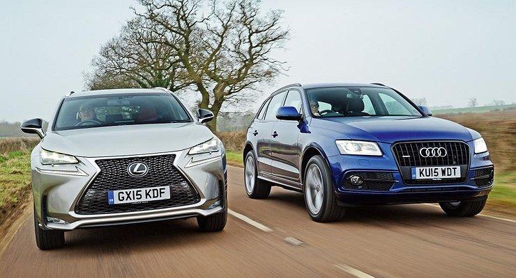 Продажи Audi иLexus тянут условный «премиум» надно