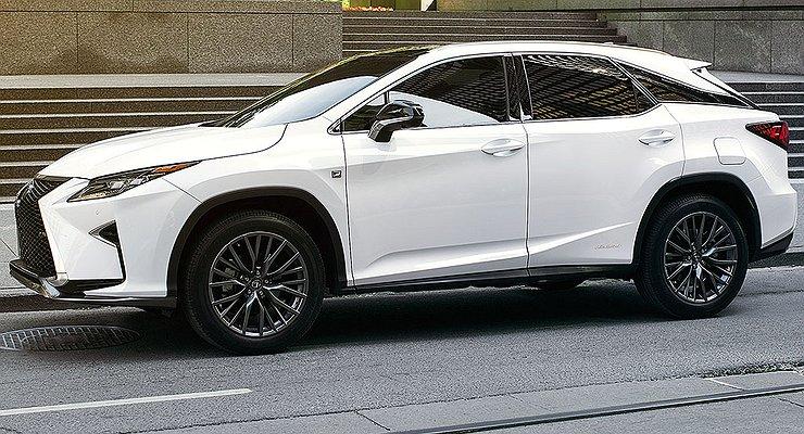 Кроссовер Lexus RXобзавелся спортивной версией