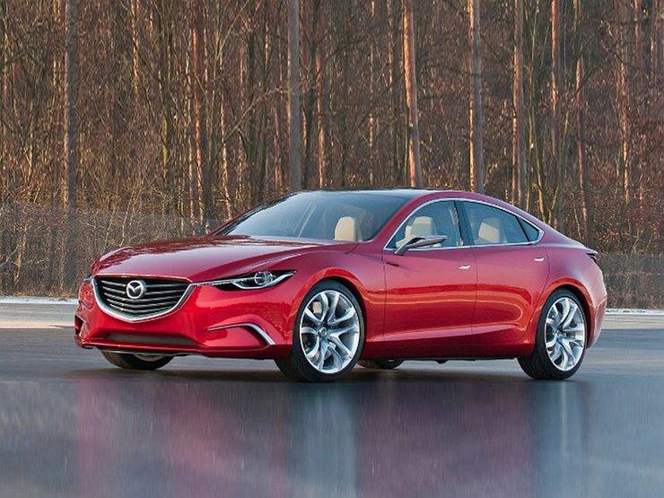 Озвучены сроки появления обновленной Mazda6 в РФ