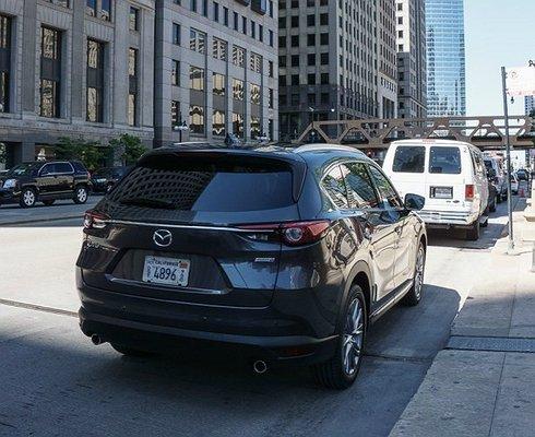 Всеть утекли фотографии нового внедорожника Mazda CX-8