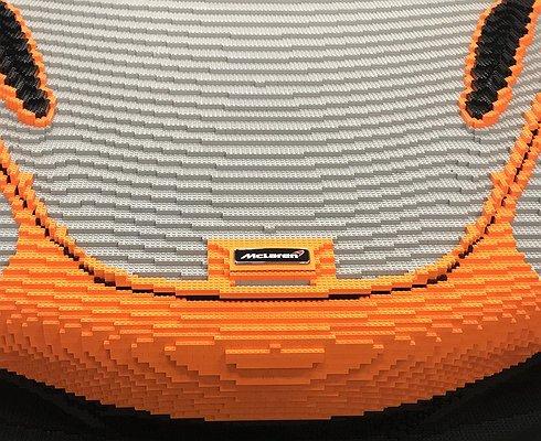 ВГудвуде покажут McLaren 720S изLego