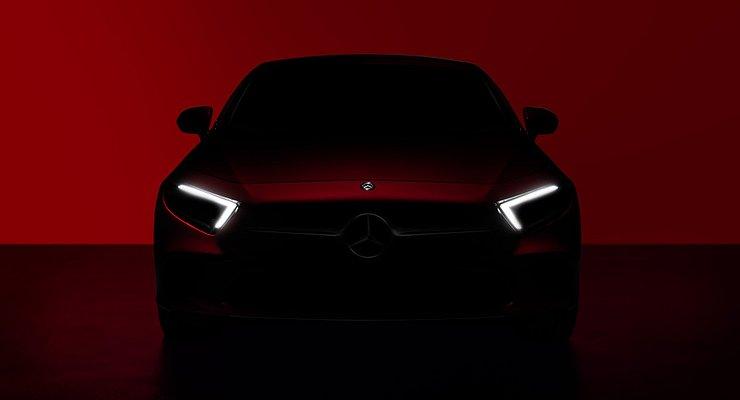 Опубликовано первое изображение Mercedes-Benz CLS третьего поколения