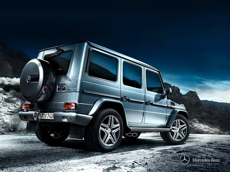 Benz G-Class возглавил рейтинг угоняемости по столице