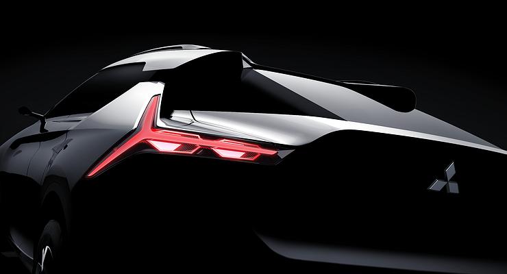Mitsubishi представит новый купеобразный кроссовер