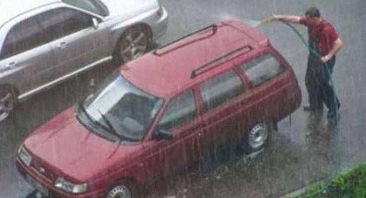 Почему машину надо мыть даже осенью вслякоть