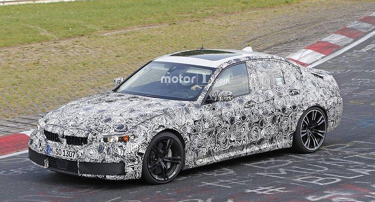 Баварцы тестируют наНюрбургринге BMW M3 нового поколения