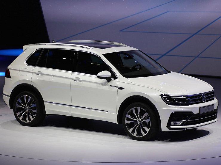 В Российской Федерации собрали первые VW Tiguan 2-го поколения