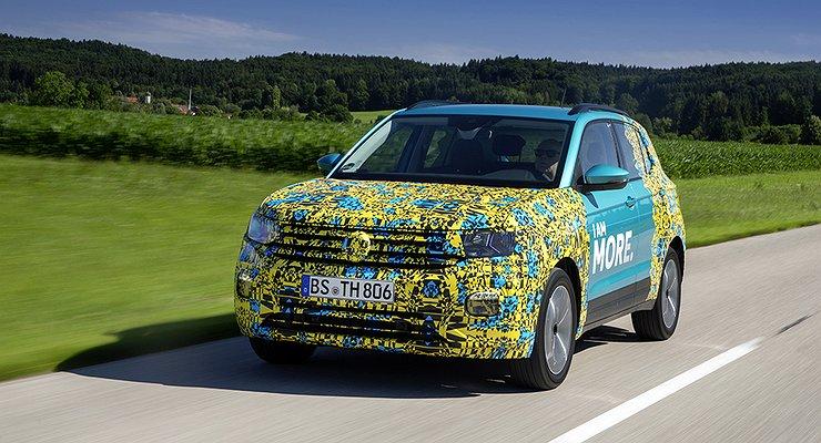 Volkswagen показал первый видеотизер нового кроссовера T-Cross