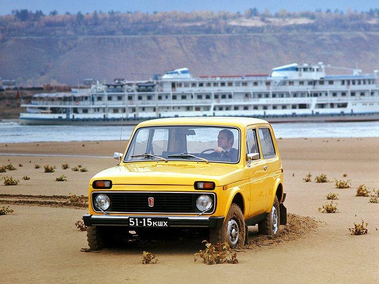 LADA 4×4 отмечает свой 40-летний юбилей - Автомобили ...