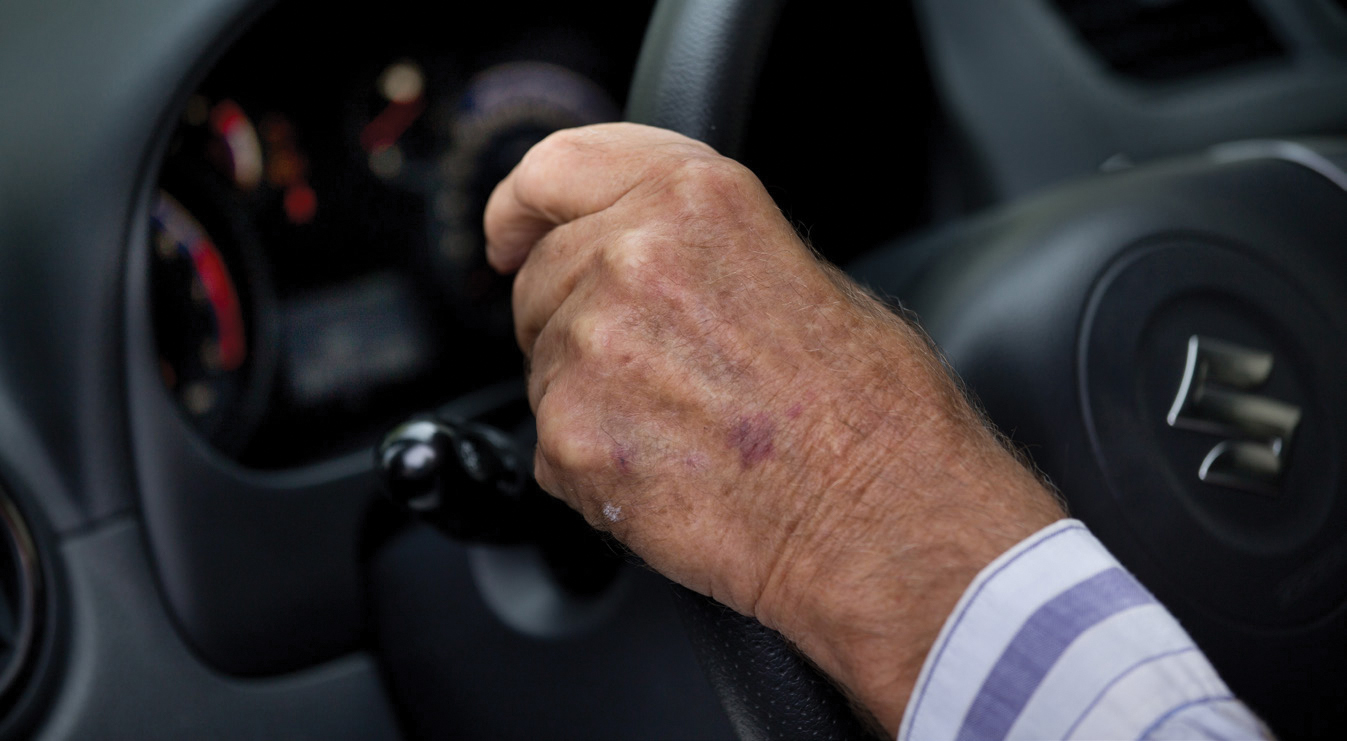 Накаких автомобилях ездят российские пенсионеры