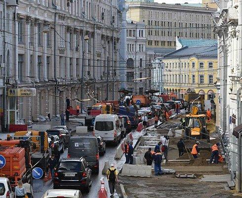 Названа дата окончания кошмарных «раскопок» вцентре Москве