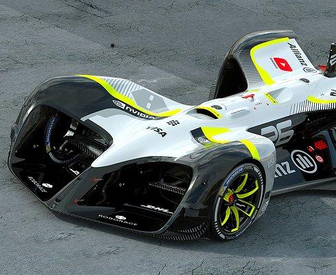 ВоФранции прошли первые публичные тесты беспилотной гоночной машины