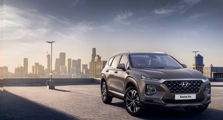 Первое знакомство сновым Hyundai Santa Fe