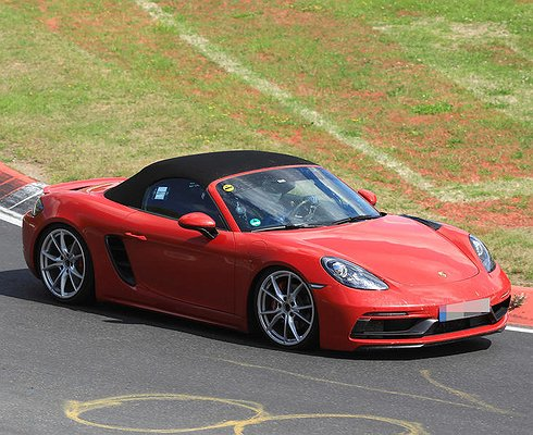 Porsche 718Boxster GTS тестируют наНюрбургринге