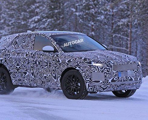 Jaguar E-Pace проходит дорожные испытания