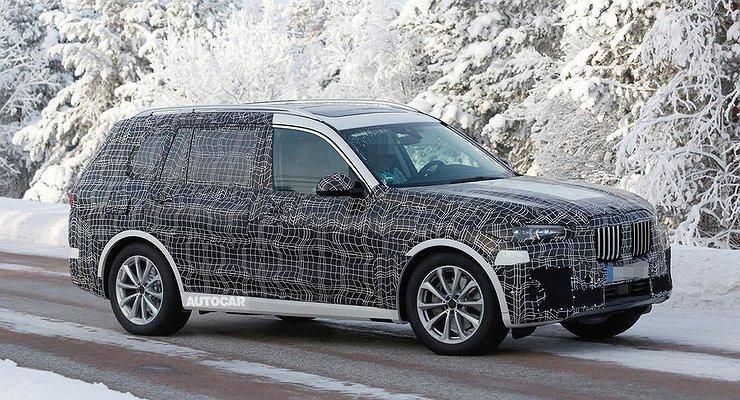 Объявлена дата премьеры нового кроссовера BMW X7