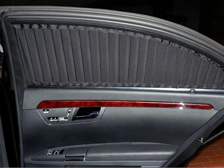 Разрешены или запрещены ли каркасные шторки на передние стекла автомобиля