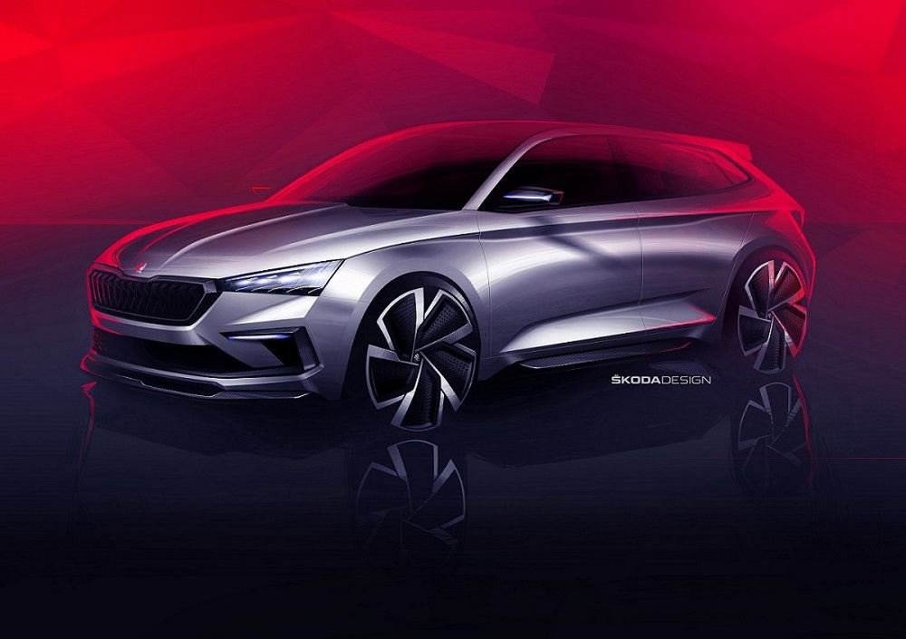 Skoda рассекретила «горячий» концепт Vision RS