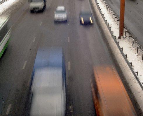 Натрассах Московской области разрешенную скорость снизят на10 км/ч