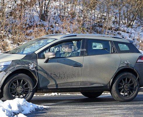 Французы тестируют новое поколение кроссовера Renault Kaptur