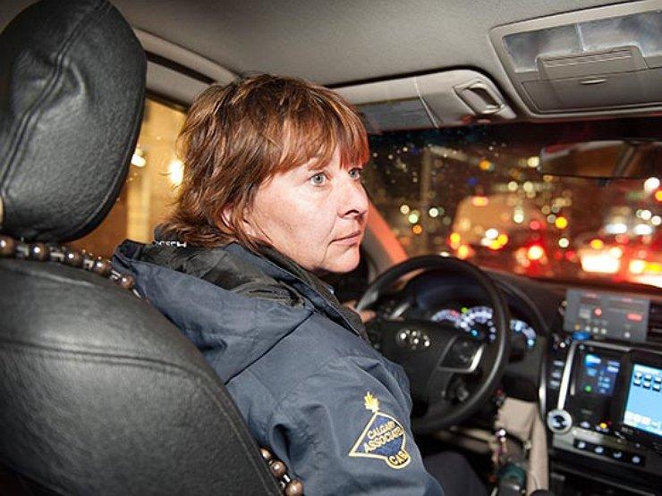 Секс с таксистом в россии видео