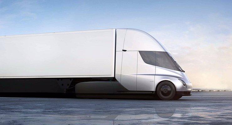 Объявлены цены наэлектрический грузовик Tesla Semi